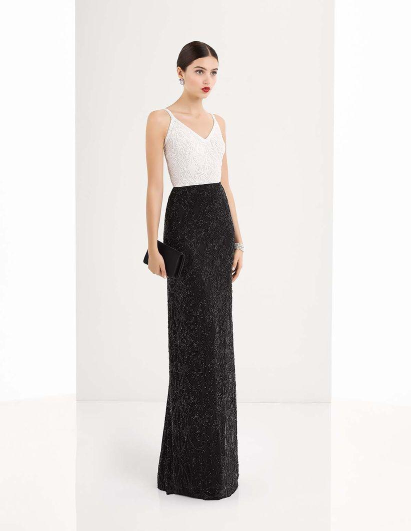 0ff6dae2f5 Vestidos de fiesta sencillos  50 modelos que enamoran