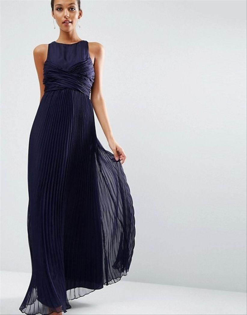 009f6d6a8 Un Vestidos De Para 30 Invitada Look Azules RATtSHwq