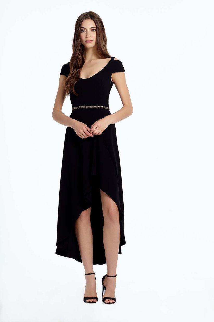 Disenos de vestidos de noche sencillos