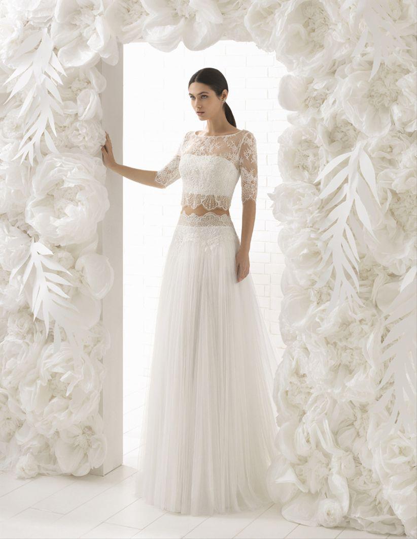 Vestidos para novias muy delgadas