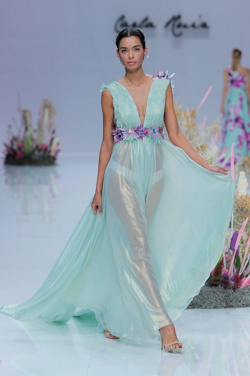 Vestidos de fiesta Carla Ruiz 2019: ¡Un viaje al fondo del océano!