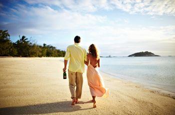 Luna de miel en la playa: 10 opciones para todos los bolsillos