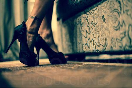 Zapatos para damas de honor adultas