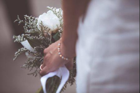 Ramos de novia tipo cascada