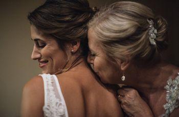 El rol de la mamá de la novia en el casamiento