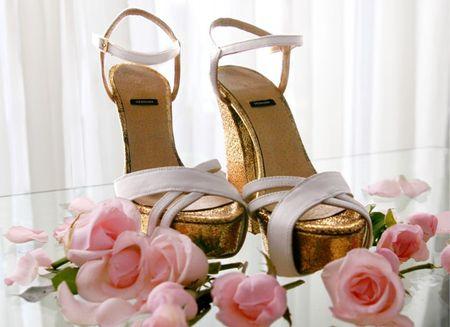 C�mo reutilizar los zapatos de novia despu�s del casamiento