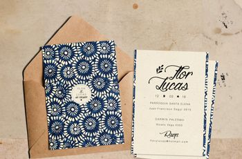 Invitaciones vintage: 30 diseños para enamorarte