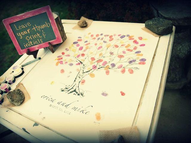 8 razones para poner un árbol de huellas en el casamiento