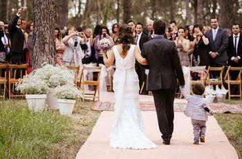 ¿Cómo incluir a los hijos en los preparativos del casamiento?