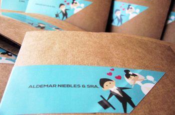 Tarjetas de casamiento divertidas: ¿cuáles son las tuyas?
