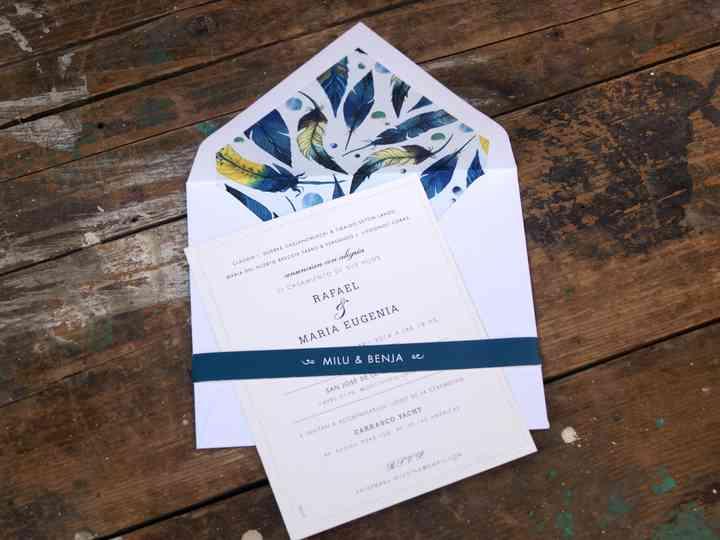 Las Invitaciones Del Casamiento Ideas Casamiento