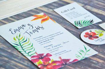 5 puntos imprescindibles para elegir las invitaciones de casamiento