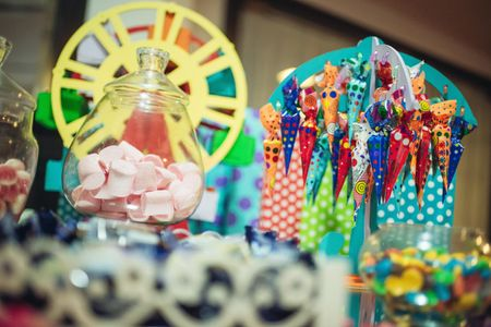 Kiosco de golosinas para el casamiento: una tendencia muy dulce