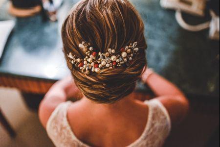 30 tocados de novia ¡Encontrá el perfecto para tu peinado!