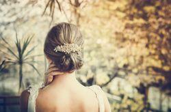 10 recogidos bajos para novias románticas