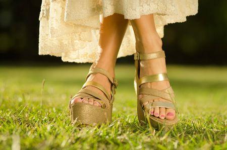 Zapatos para un casamiento en la playa o el campo