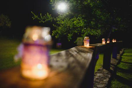 Ideas para decorar tu casamiento con velas