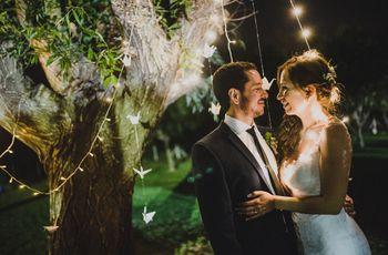 ¿Se casan al aire libre? Miren estas 7 ideas para decorar los... ¡árboles!