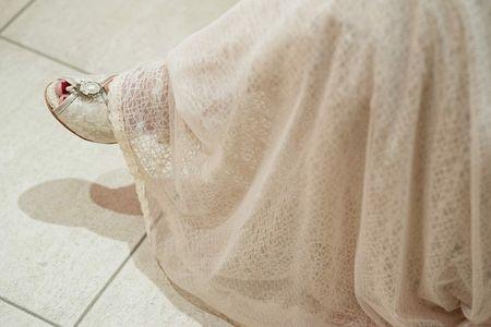 Zapatos de novia con encaje, el toque vintage para tu look