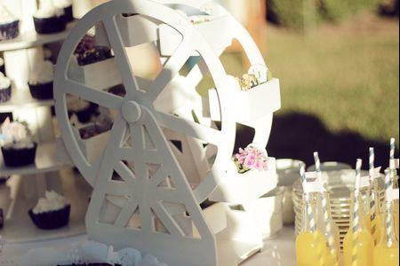 Cómo decorar la mesa dulce del casamiento