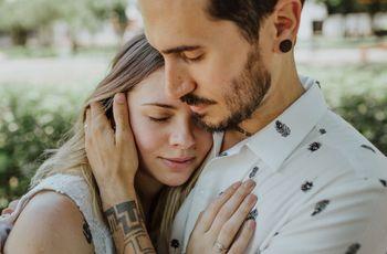 30 frases de amor cortas para dedicarse o incluir en los detalles de su boda