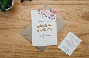 60 modelos de tarjetas de casamiento: ¡encuentren su estilo!