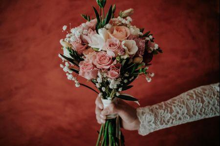 Ramos de novia color rosa, un clásico que se reinventa