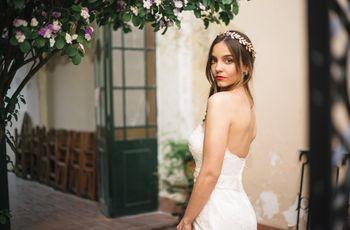 25 tocados de novia vintage para un look elegante con aires de nostalgia