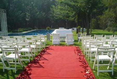 Casarse en el jardín de casa