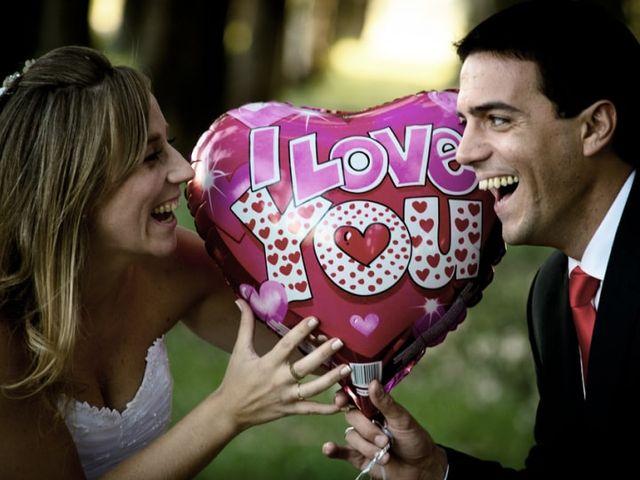 Fotos de casamiento con globos