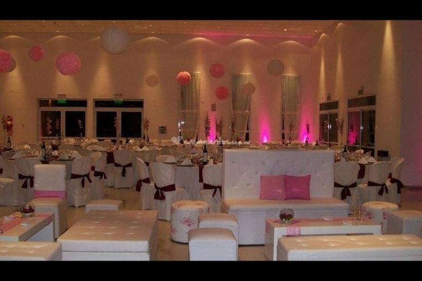 Decoracion Retro Para Fiesta ~ decoracion en rosa y obispo para fiesta de 15 7 78684 jpg