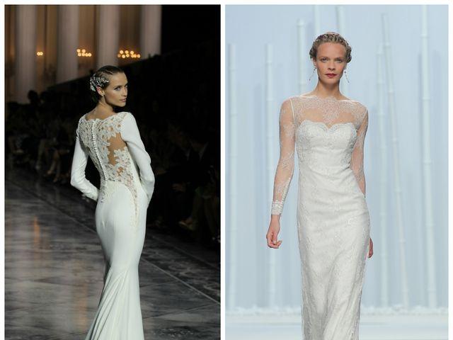 Descubrí los vestidos de novia 2016