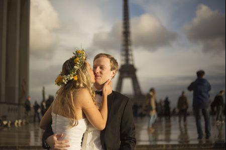 Camille y Luke, un pre-postcasamiento en París