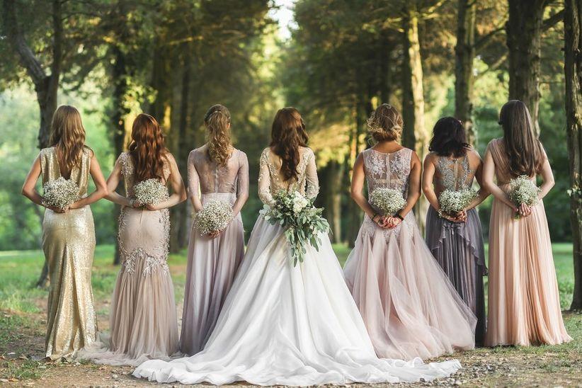 eb690605af Las damas de honor son una costumbre cada vez más común en nuestro país