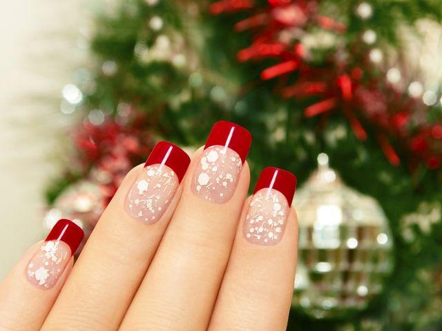 15 propuestas de manicura navideña