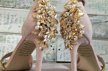 255fc5070e Conocé la historia del emotivo mensaje en los zapatos de esta novia