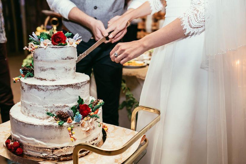Torta Matrimonio Rustico : Tendencias en tortas de casamiento