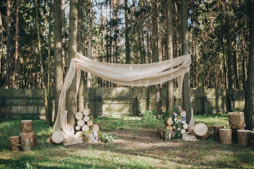 7 formas de armar una p rgola para la ceremonia - Pergolas el bosque ...