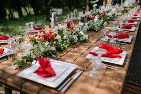 10 ideas originales para las mesas del casamiento