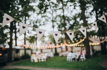 """Llená tu casamiento de corazones: decí """"sí"""" a la decoración romántica"""