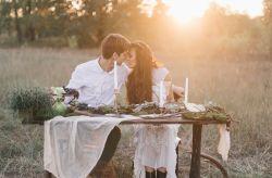Sweetheart table: la mesa íntima de los novios