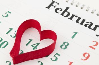 El primer San Valentín como casados