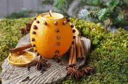 ¿Cómo hacer un porta velas con fruta?