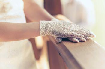 ¡Complementá tu look nupcial con unos guantes de novia!