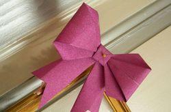 Hacé tus propios moños origami