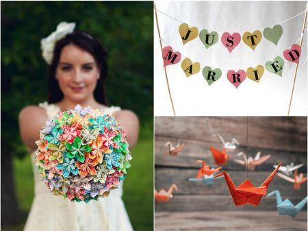 Decoraci�n con origami y papel, tendencia para casamientos 2016