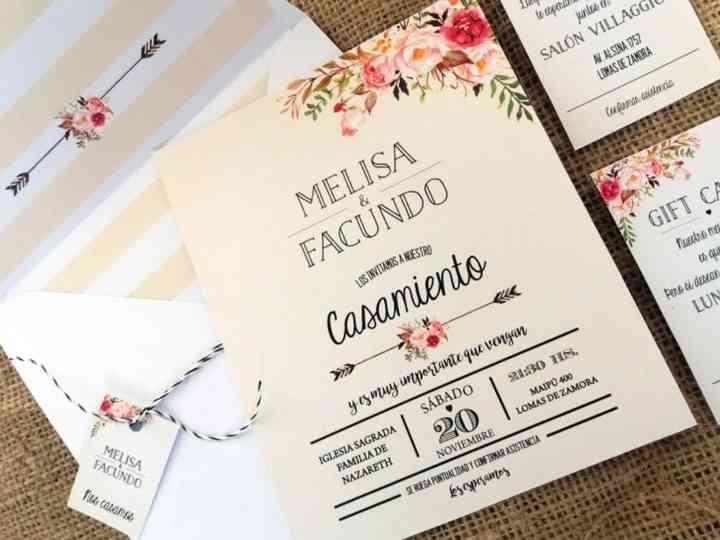 Tarjetas De Casamiento 2018 Las últimas Tendencias