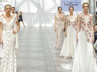 Vestidos de novia Noemí Vallone 2018: apuesta de color
