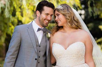Vestidos de novia para gorditas: ¡lucí tus curvas con estilo!