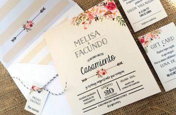 Tarjetas de casamiento 2018 ¡Las últimas tendencias!